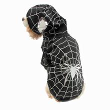 Superhero Dog Costume - Black Spider Dog