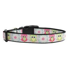 Sweet as Sugar Owls Dog Collar
