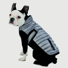 Tahoe Puffer Dog Coat - Silver