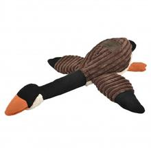 Tall Tails Goose Dog Toy - Brown and Cream
