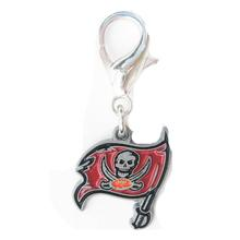 Tampa Bay Buccaneers Logo Dog Collar Charm