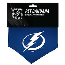 Tampa Bay Lightning Cotton Dog Bandana