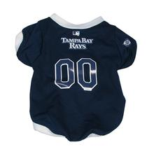 Tampa Bay Rays Baseball Dog Jersey