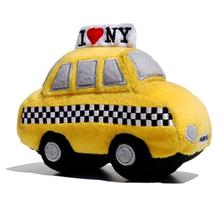 Taxi Plush Dog Toy