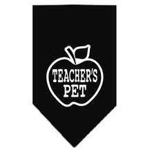 Teacher's Pet Dog Bandana - Black