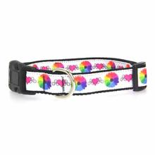 Technicolor Love Dog Collar