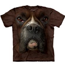 The Mountain Human T-Shirt - Boxer Face