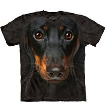 The Mountain Human T-Shirt - Dachshund Head