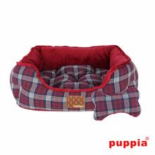 Theodore House Dog Bed by Puppia - Wine