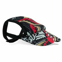Tiki Flame Dog Visor by Playa Pup