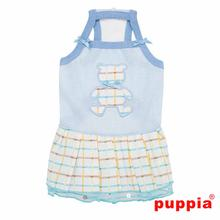 Tot Dog Dress by Puppia - Sky Blue