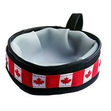 Trail Buddy Portable Dog Bowl by Cycle Dog - Canada Maple Leaf