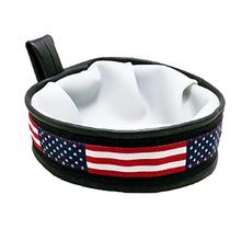 Trail Buddy Portable Dog Bowl by Cycle Dog - Stars & Stripes