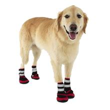 Trail Trackers Dog Boots by Doggles - Red and Black