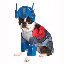 Transformers Deluxe Optimus Prime Halloween Dog Costume