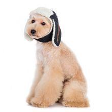 Trapper Dog Hat by Dogo - Black Denim