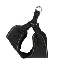Trek Adjustable Step-In Dog Harness by Puppia Life - Black