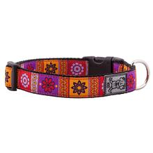 Trendy Mehndi Adjustable Dog Collar by RC Pet