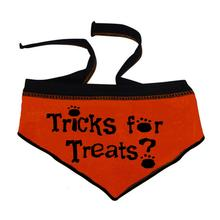 Tricks for Treats Dog Bandana Scarf - Orange