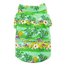 Tropical Island Dog Shirt by Dogo - Green