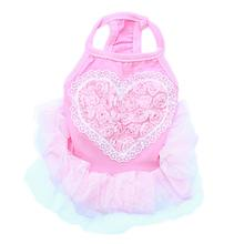 Tutu Heart Dog Dress by Parisian Pet - Pink