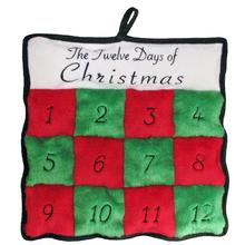 Twelve Days of Christmas Squeaker Mat Dog Toy