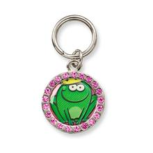 Unity Collar Charm by Doggles - Frog Prince w/ Crystals