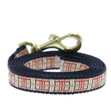 Up Country Tan Plaid Dog Leash