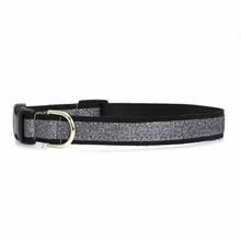 Urban Chic Glitter Dog Collar - Black