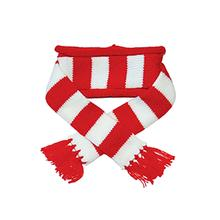 Urban Stripe Dog Scarf from Dogo - Red
