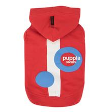 Valo Hooded Dog Shirt by Puppia - Red