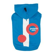 Valo Hooded Dog Shirt by Puppia - Royal Blue