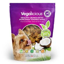 Vegalicious Crunch Bites Dog Treat - Crazy Coconut