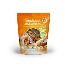 Vegalicious Crunch Bites Dog Treat - Peanut Butter Blast