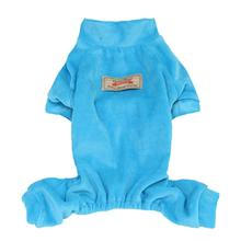 Velour Dog Pajamas by Parisian Pet - Blue