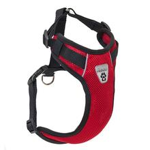 Vented Vest Car Seat Dog Harness - V2 Red