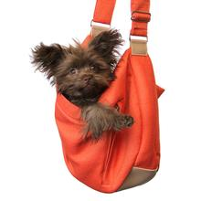Vienna Sling Pet Carrier by Hello Doggie - Tangerine