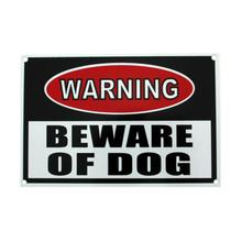 Warning Beware of Dog Sign