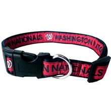 Washington Nationals Officially Licensed Ribbon Dog Collar
