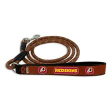 Washington Redskins Frozen Rope Leather Dog Leash