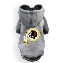 Washington Redskins NFL Dog Hoodie - Gray