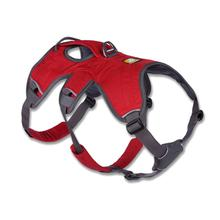 Web Master Dog Harness by RuffWear - Red