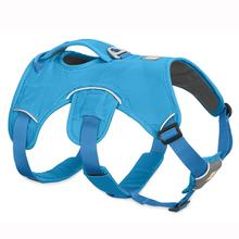 Web Master Dog Harness by RuffWear - Blue Dusk
