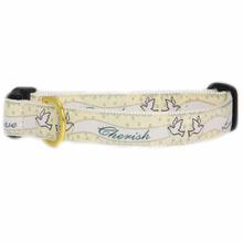 Up Country Wedding Collection - Love & Cherish Dog Collar