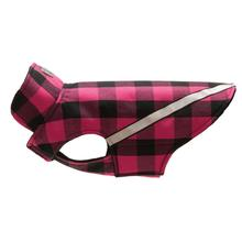 West Coast Dog Rainwear - Pink Buffalo Plaid
