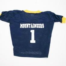 West Virginia Mountaineers Dog Jersey