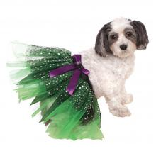 Witch Dog Tutu with Stars