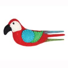 Wooly Wonks Safari Cat Toy - Parrot
