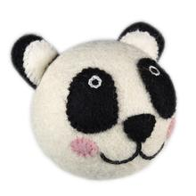 Wooly Wonks Safari Dog Toy - Panda