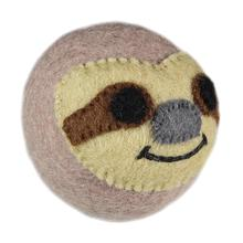Wooly Wonks Safari Dog Toy - Sloth
